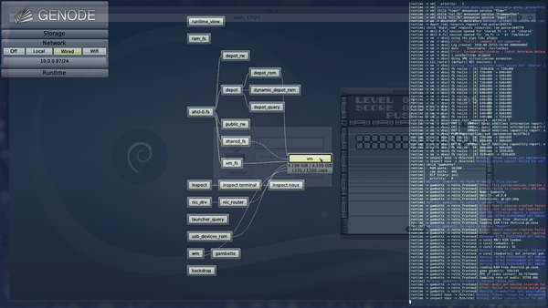 Genode - Release notes for the Genode OS Framework 18 08